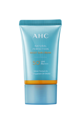 AHC NATURAL PERFECTION保濕防曬霜 50ml SPF50/PA++++