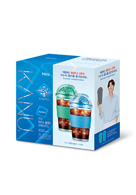 MAXIM KANU ICE BLEND 1.0g*100T + TUMBLER (COLOR RANDOM) 咖啡+杯子