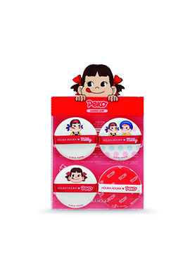 2019Holika x Peko 不二家牛奶妹聯名Hardcover cushion puff (4 pieces)